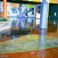 SAT Stained Concrete