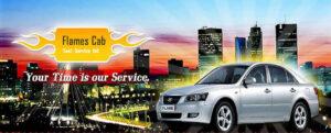 flames cab taxi