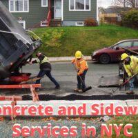 Sidewalk Repair Specialists in NYC