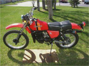 Kawasaki KX 125 - 1980